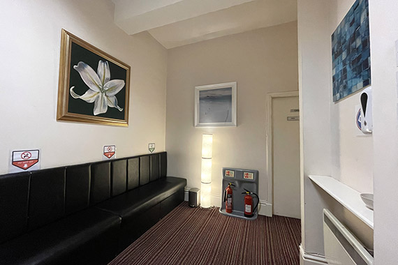 The Consulting Rooms Reception Area